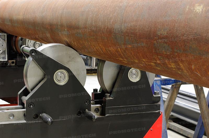 PRO-40 PBS оснащается мощными опорами для труб
