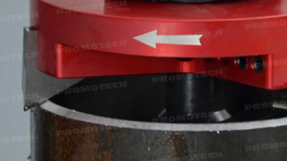 PRO-5 PB предназначен для снятия фаски с внутреннего и внешнего диаметра труб
