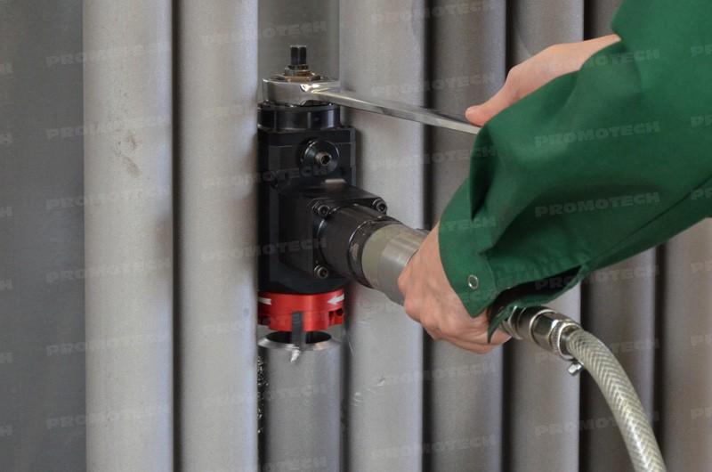 PRO-5 PB комплектуется дополнительной шпиндельной опрвкой и гаечным ключом с трещоткой